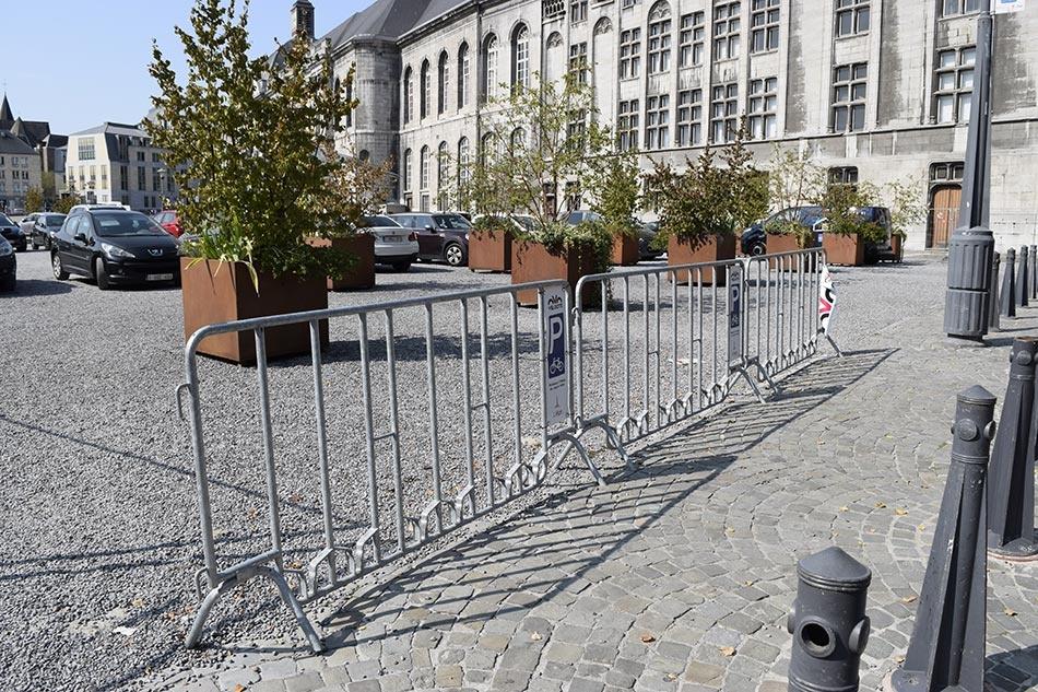 Parking vélo temporaire